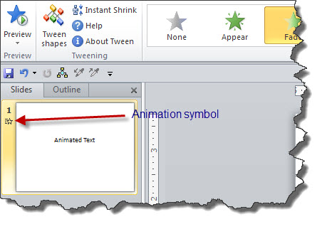Animation Symbol in 2010