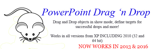 PowerPoint Drag 'n Drop. If you like Jigsaw Maker you'll love this!!