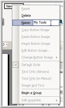 Adding Commands to a new powerpoint menu