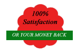 money back no quibbles!