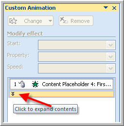 PowerPoint Text On Click
